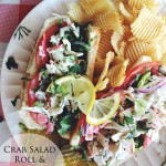 Crab Salad Roll & Cape Cod Chips