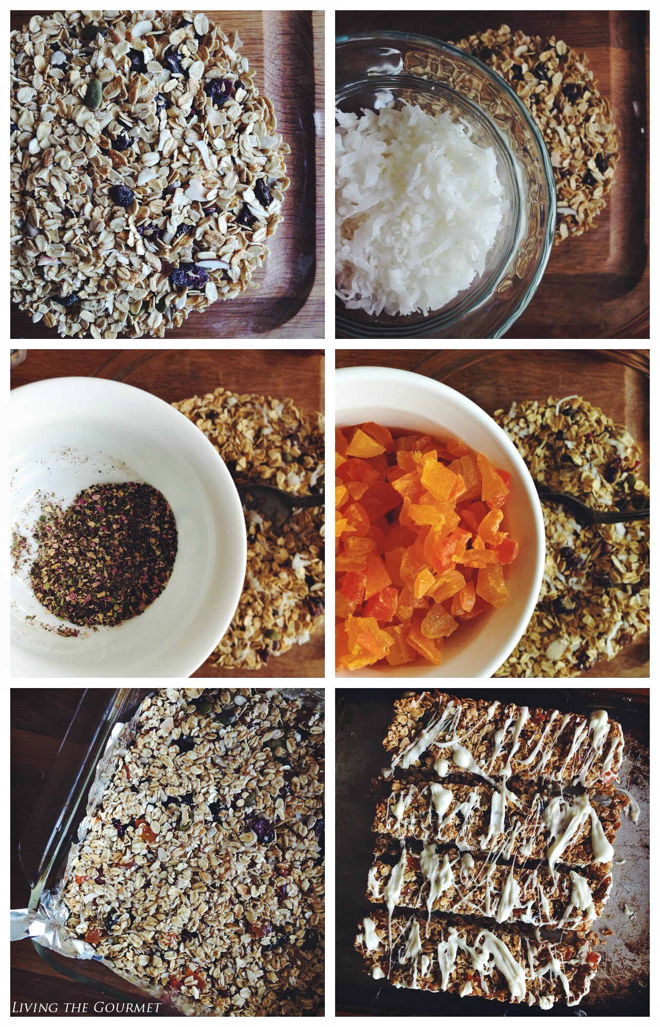 Living the Gourmet: Muesli Granola Bars #mueslichallenge #muesli #mueslirecipes #sp