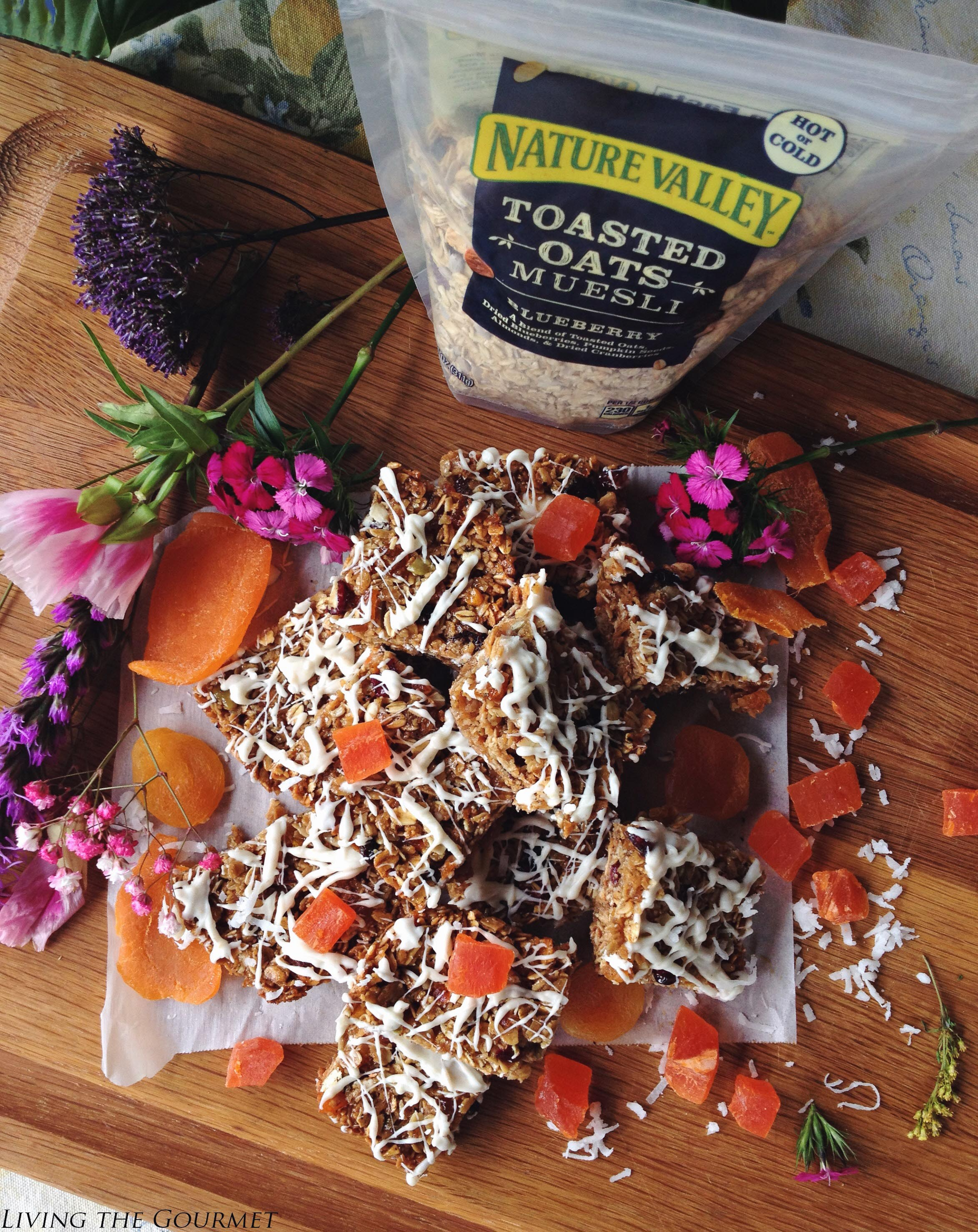 Living the Gourmet: Muesli Granola Bars #mueslichallenge #muesli #mueslirecipes #spith f2 preset