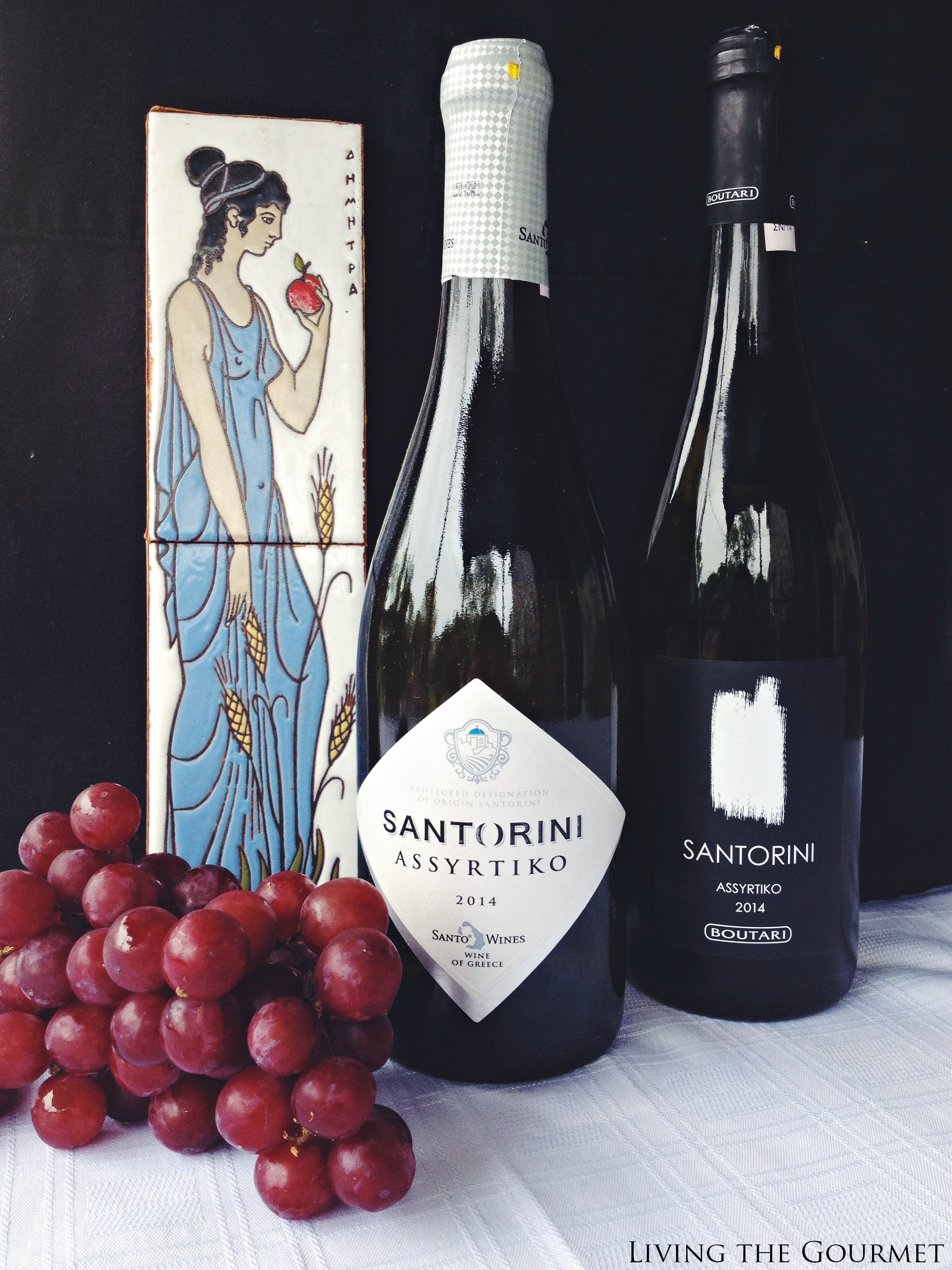 Living the Gourmet: The Wines of Santorini