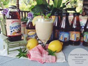 Snapple Lemon Slushy