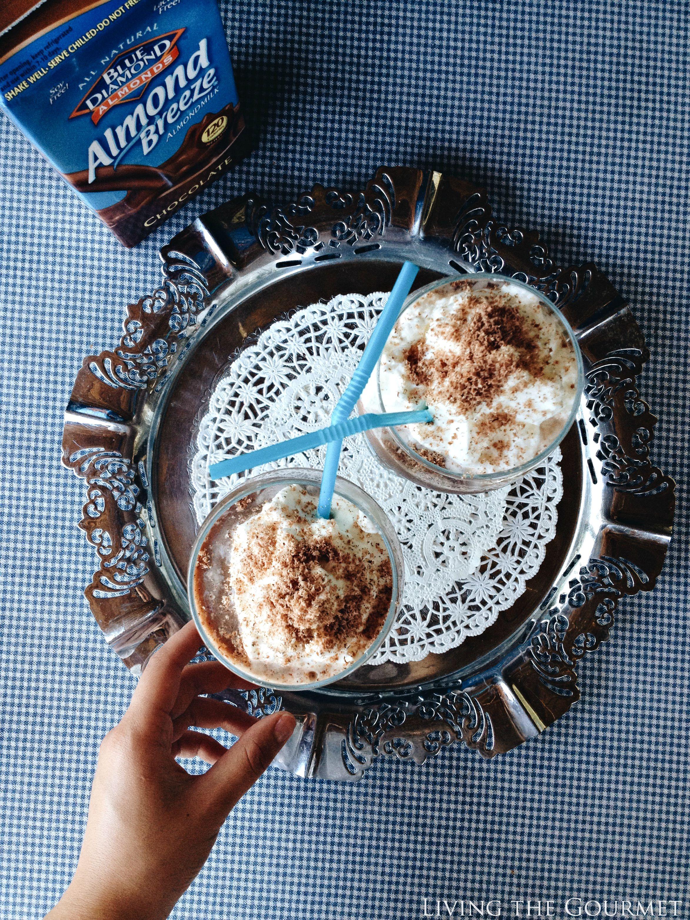 Living the Gourmet: Almond Milk Chocolate Frosty