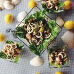 Calamari and Shrimp Salad