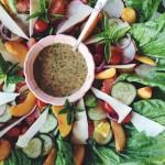 Fresh Citrus Salad with Balsamic Honey Vinaigrette Dressing