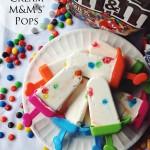 Coconut Cream M&M's® Pops