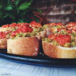 Fava Bean and Tomato Crostini #SecretRecipeClub
