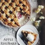 Apple Rhubarb Pie