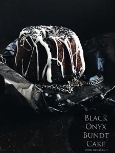 Black Onyx Bundt Cake – #BundtBakers