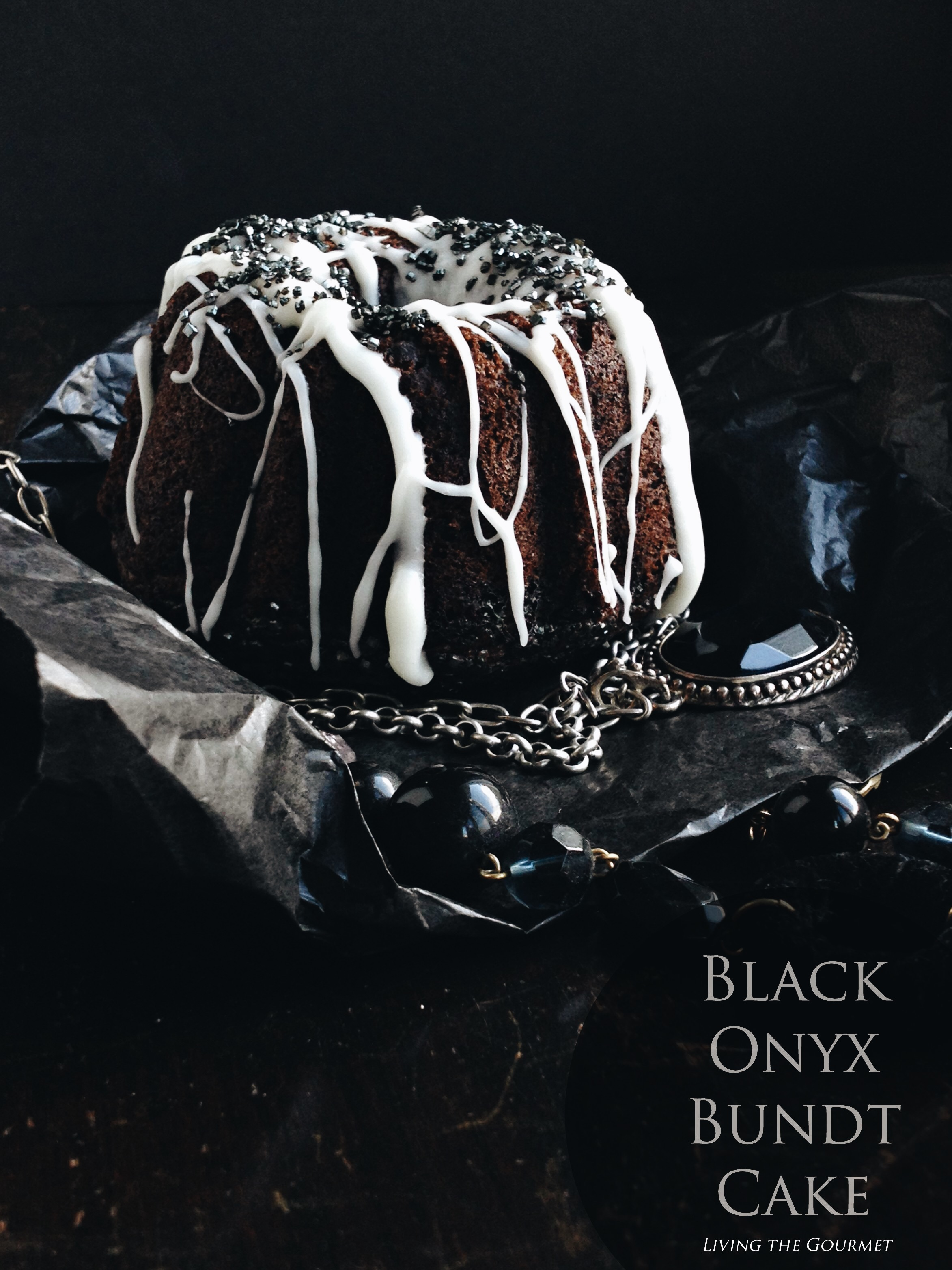 Living the Gourmet: Black Onyx Bundt Cake #BundtBakers
