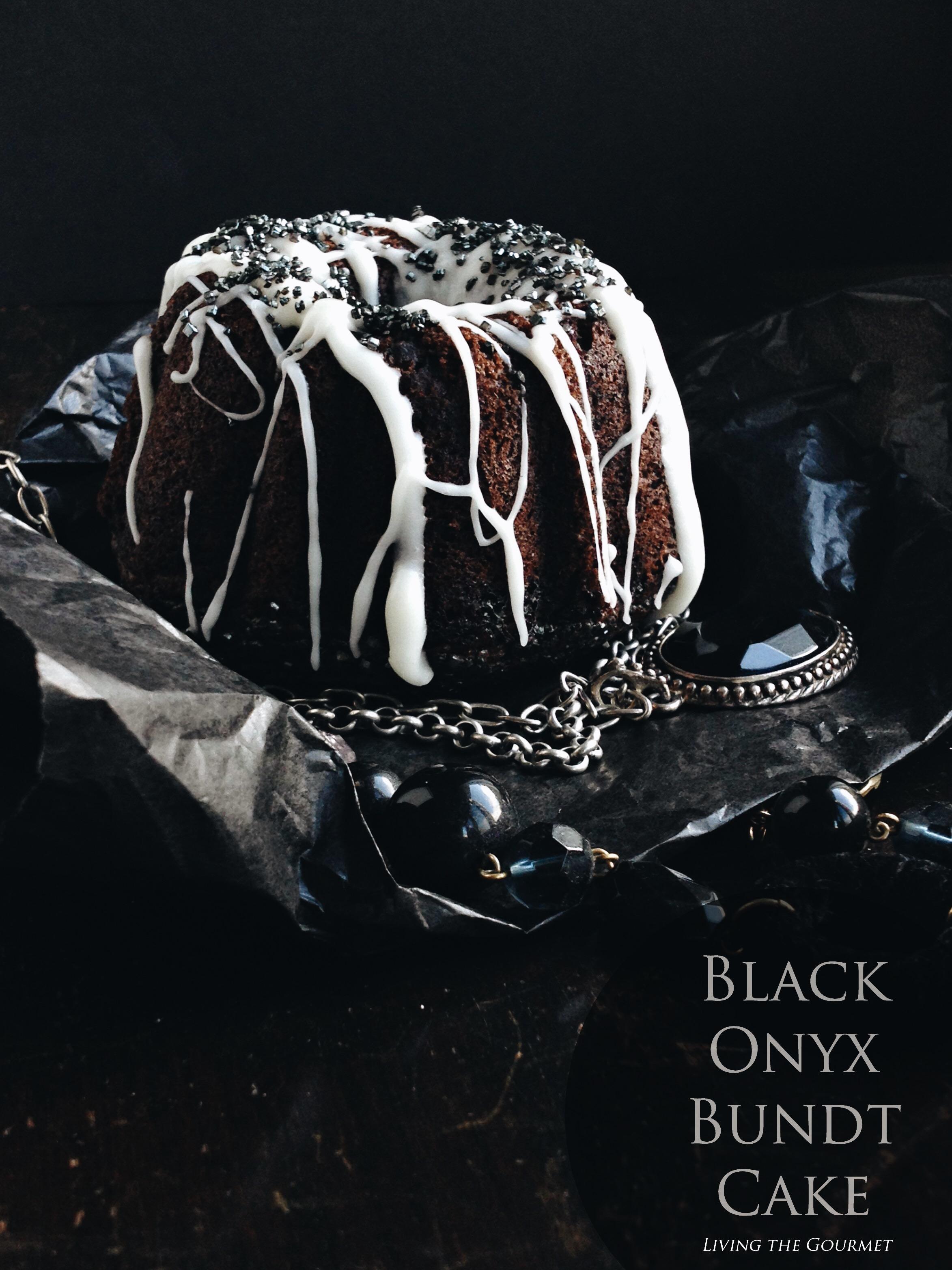 Living the Gourmet: Black Onyx Bundt Cake #BundtBakers