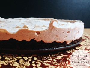 SRC – Chocolate Candy Cheesecake