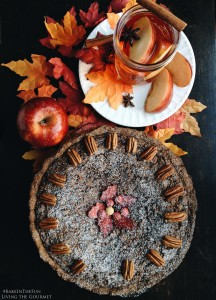 Chocolate Pecan Pie & Spiced Apple Cider