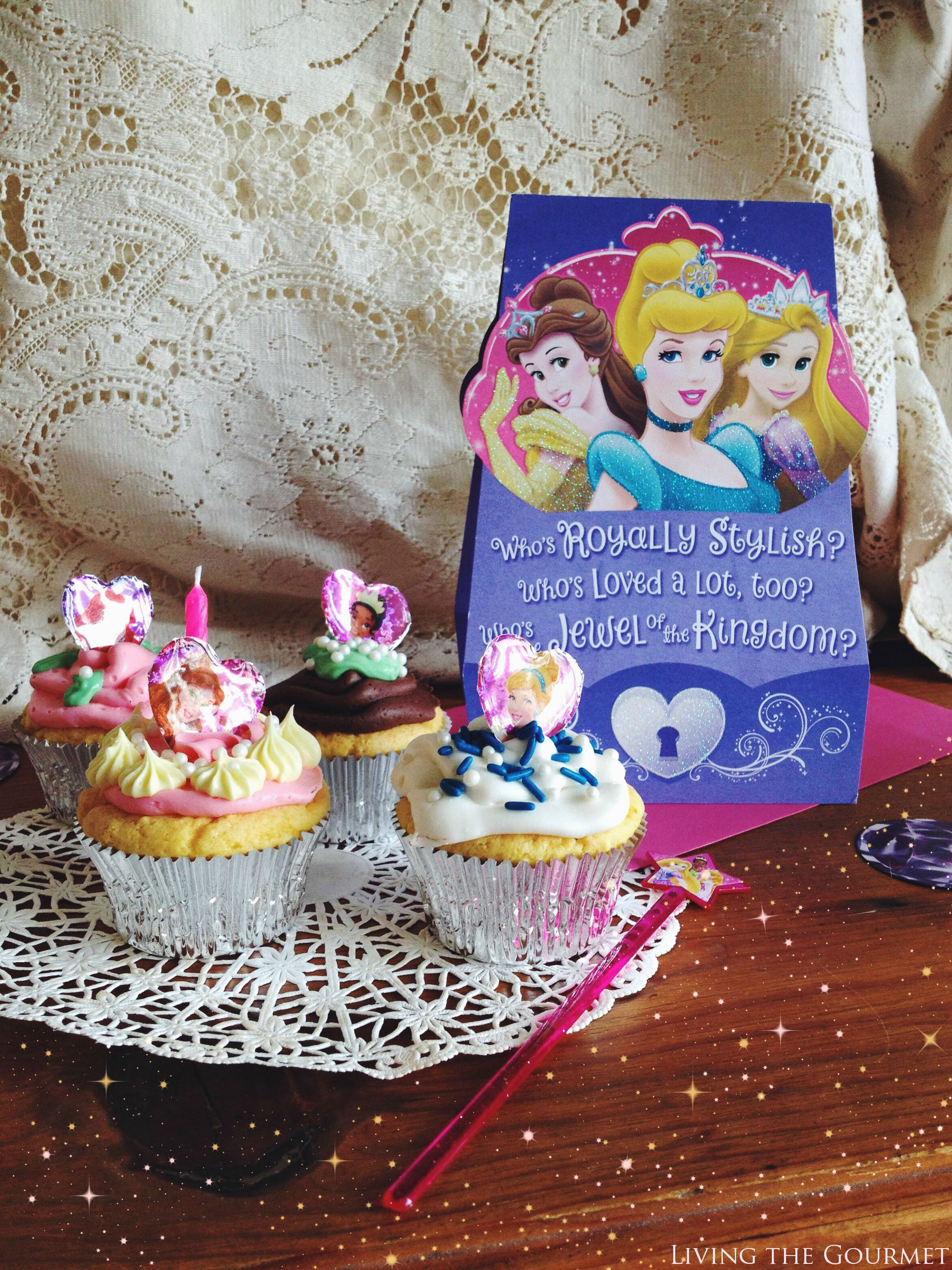 Living the Gourmet: Two Ingredient Party Cupcakes   #BDayOnBudget #Ad