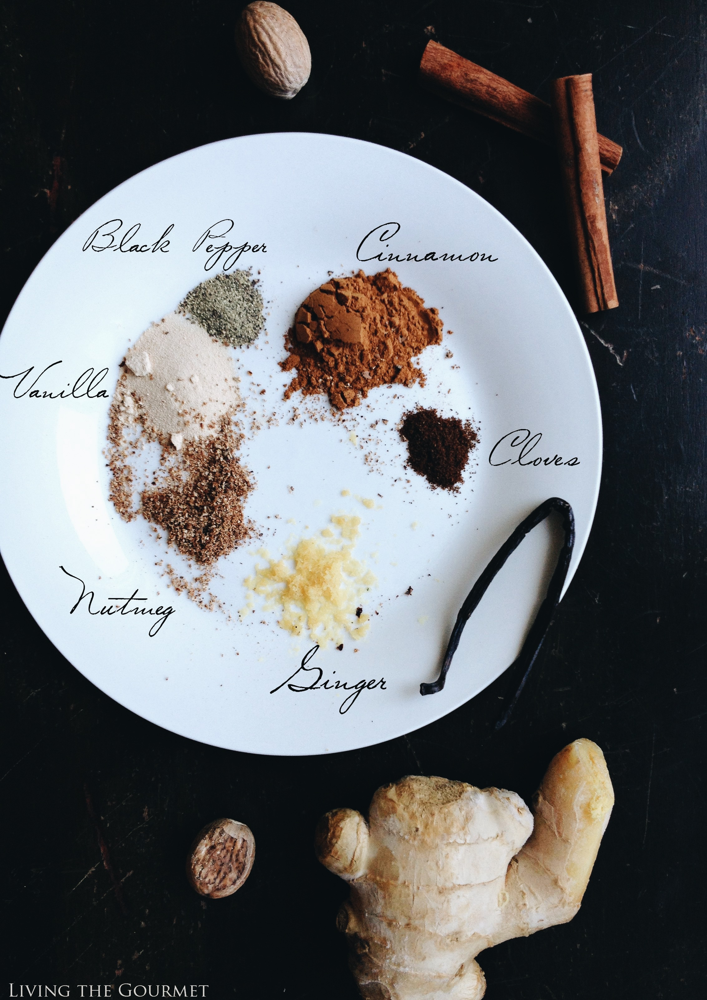 Living the Gourmet: The Perfect Autumn Spice Mix