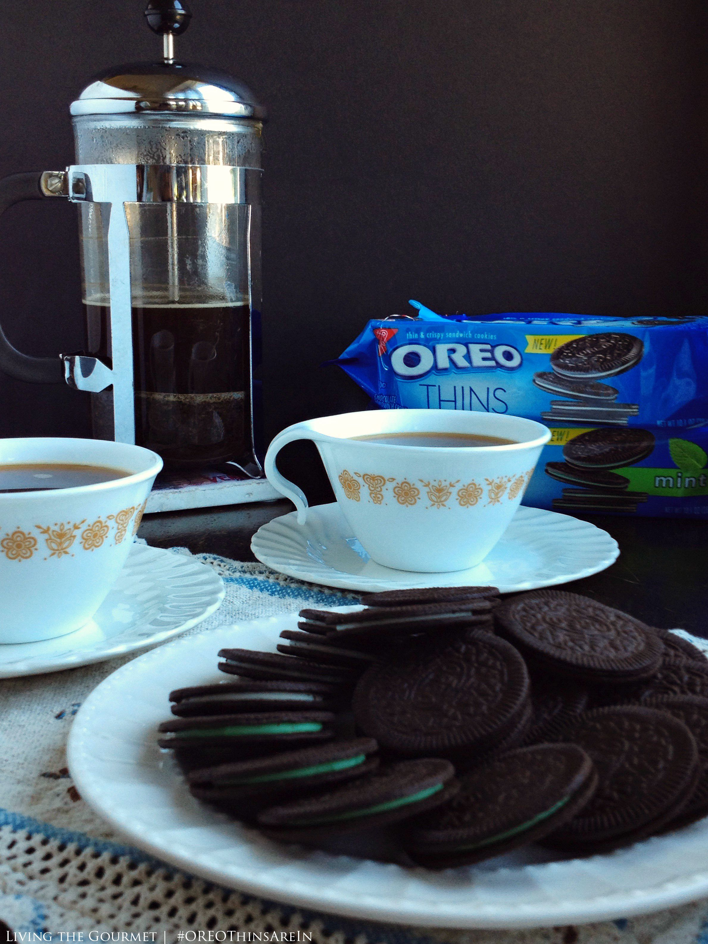 Living the Gourmet: French Press Coffee | #OREOThinsAreIn AD