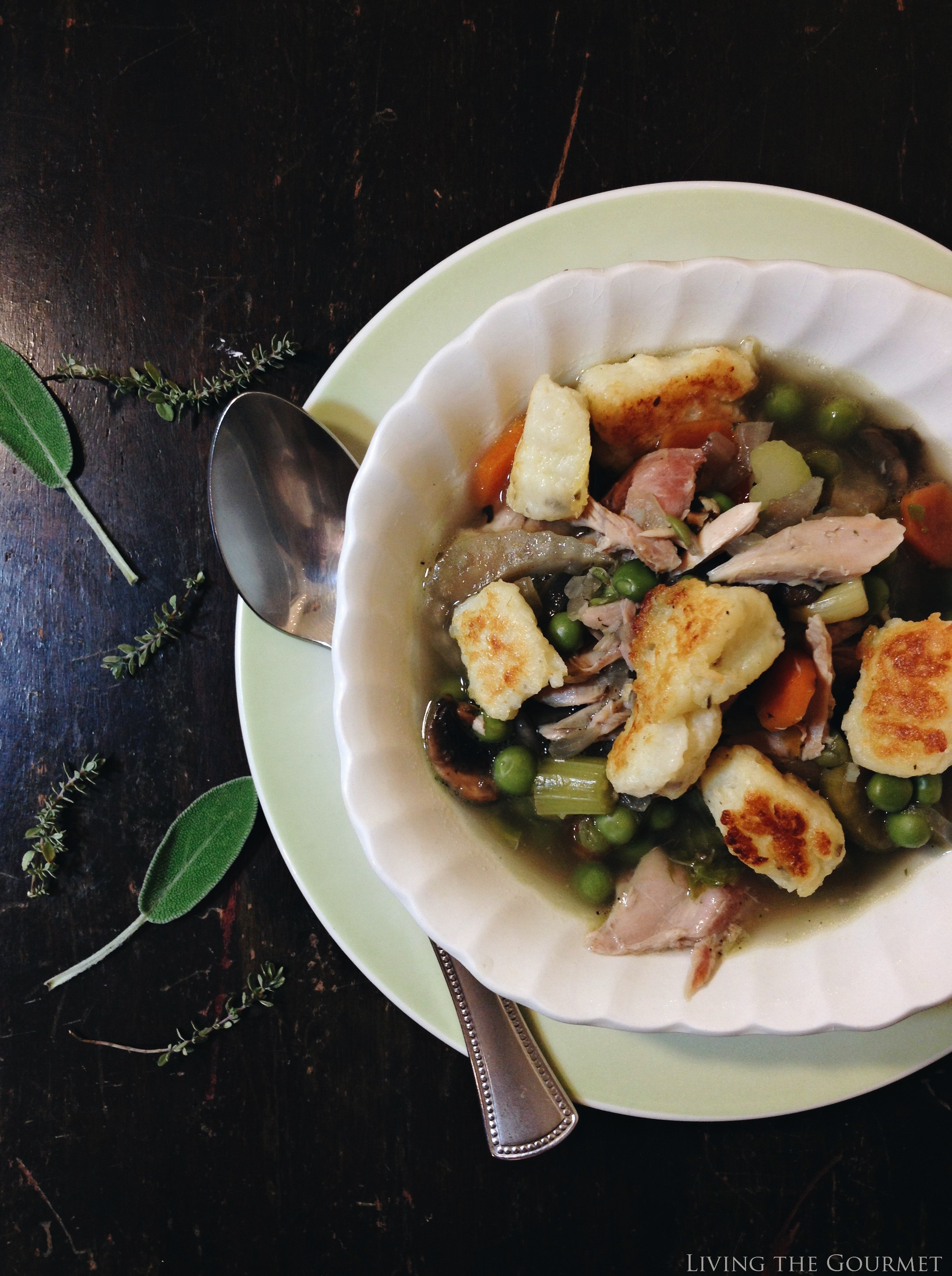Living the Gourmet: Gnocchi and Chicken Soup