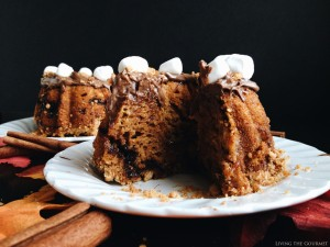 #BundtBakers: Pumpkin S'mores Bundt