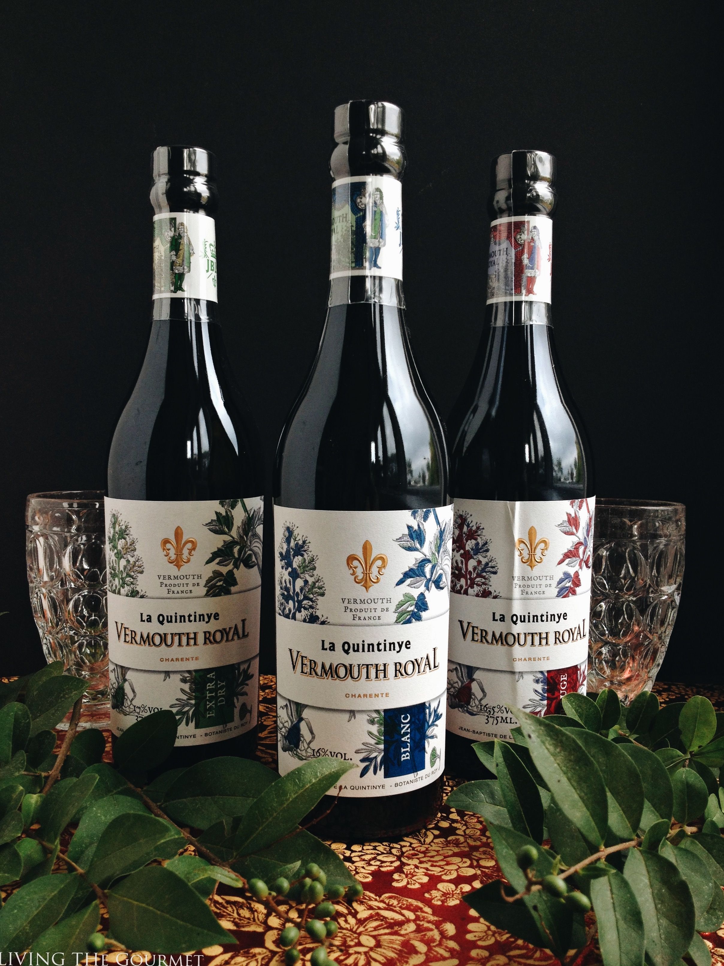 Living the Gourmet: La Quintinye Vermouth Royal