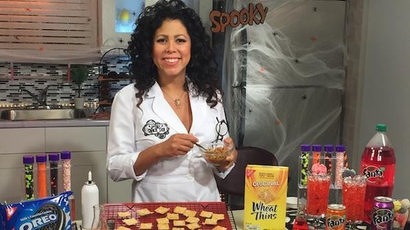 Living the Gourmet: Spooky Snack Lab with Evette Rios
