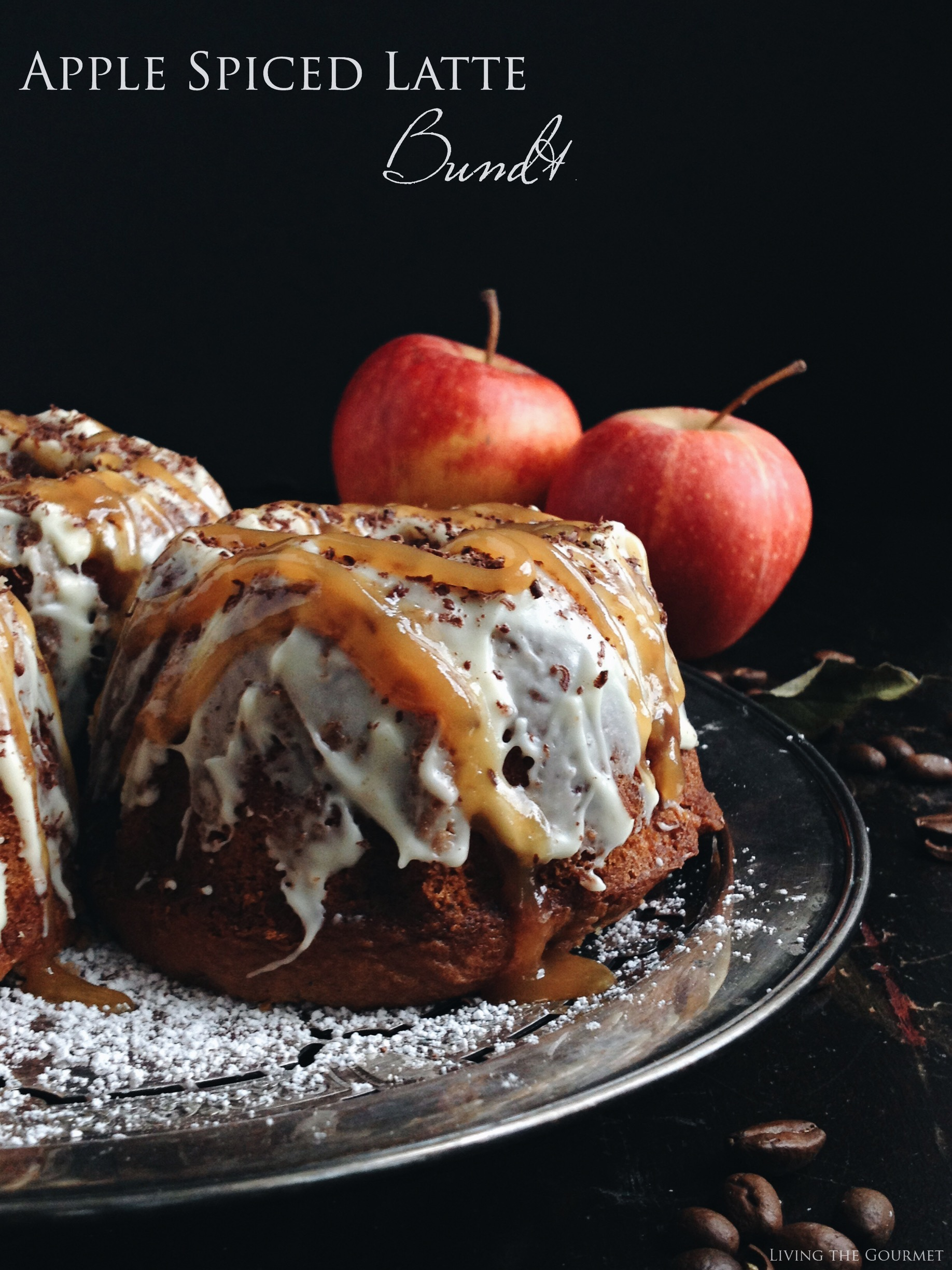 Living the Gourmet: #BundtBakers: Apple Spice Latte Bundt