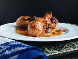 Baked BBQ Chicken Legs