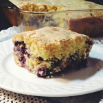 SRC – Buttermilk Blueberry Breakfast Cake