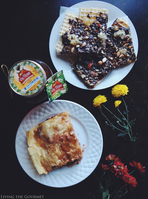 Living the Gourmet: Orange Blossom Honey Baklava   #HoneyForHolidays AD