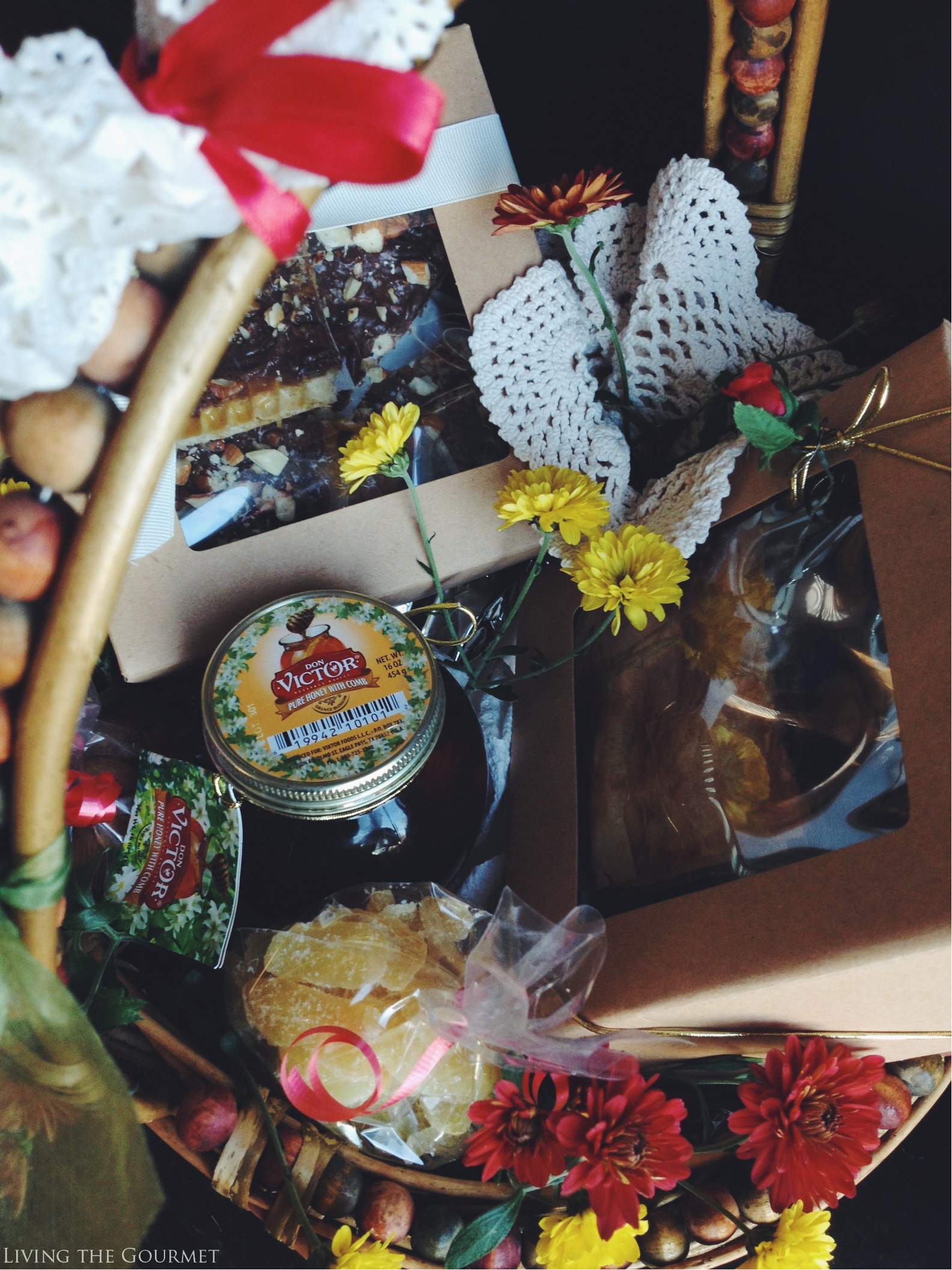 Living the Gourmet: Honeycomb Bark   #HoneyForHolidays AD