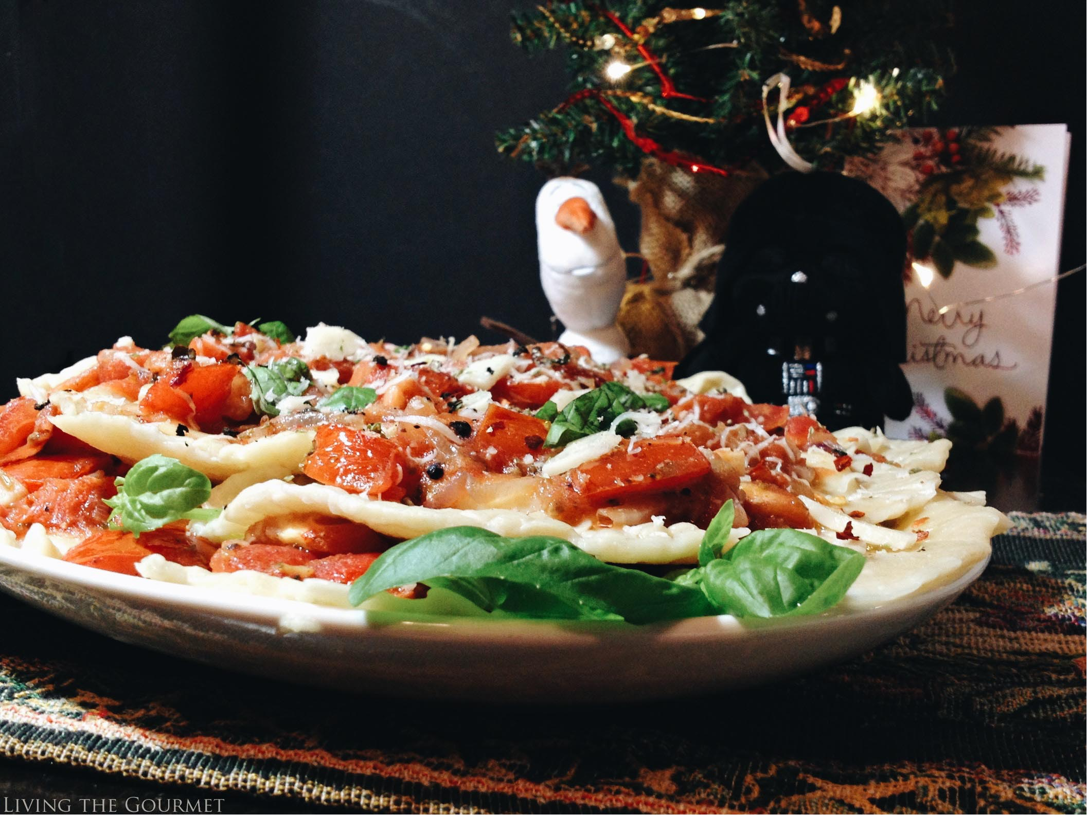 Living the Gourmet: Sweet Italian Ravioli   #SendHallmark AD