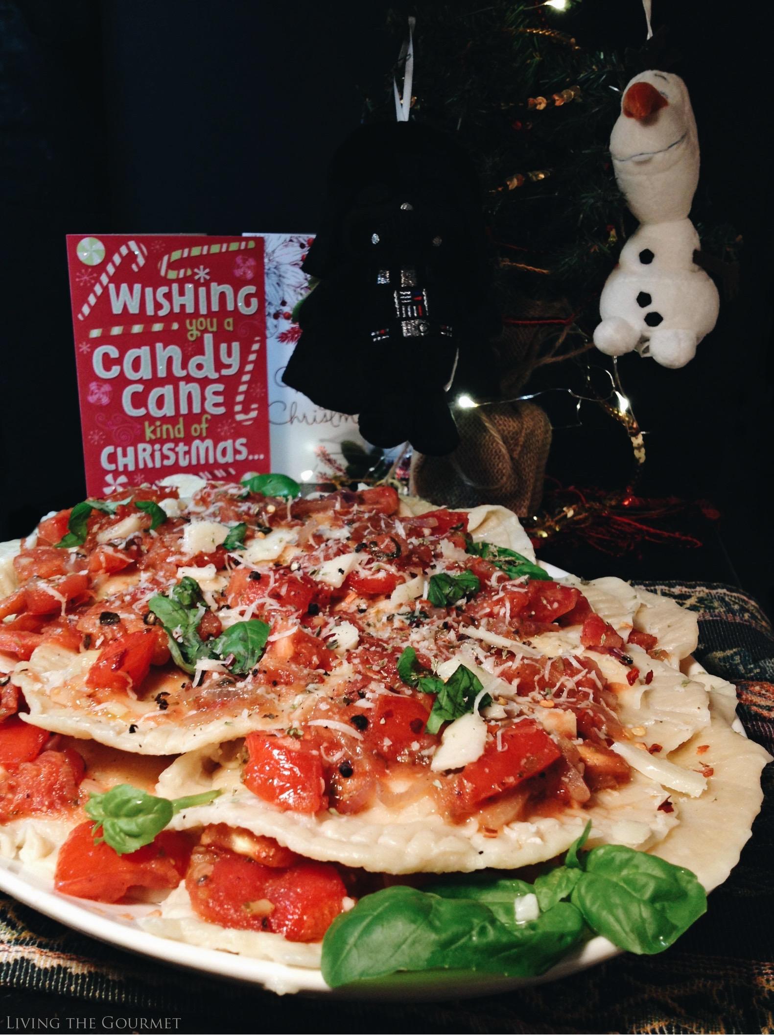 Living the Gourmet: Sweet Italian Ravioli | #SendHallmark AD