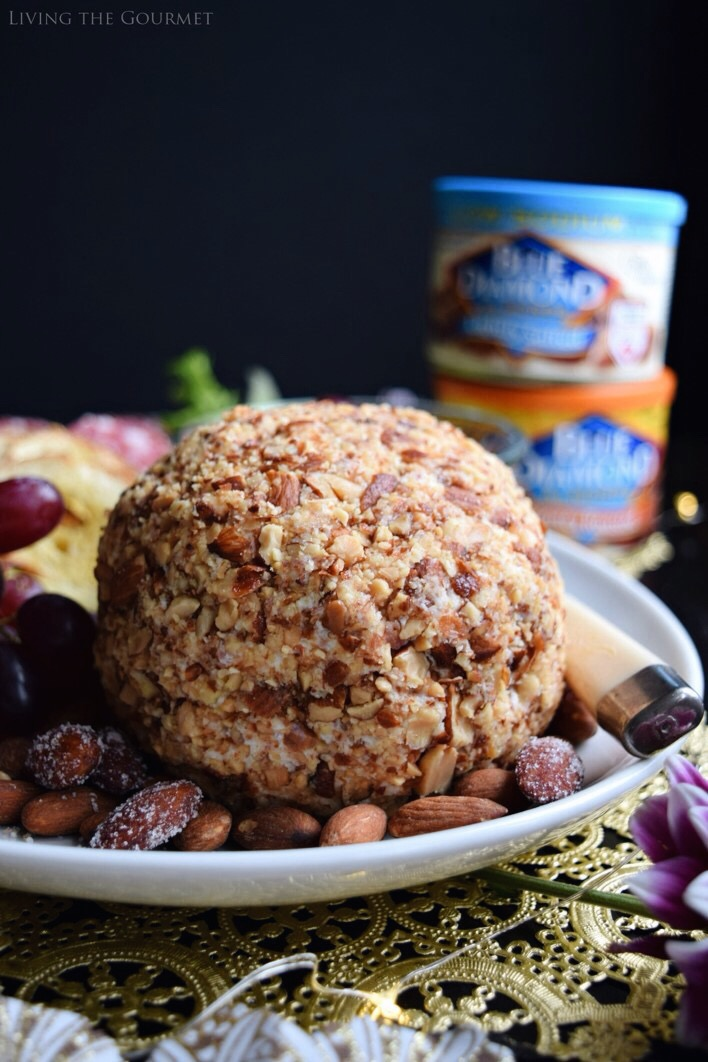 Living the Gourmet: Italian Cheese Balll #ad