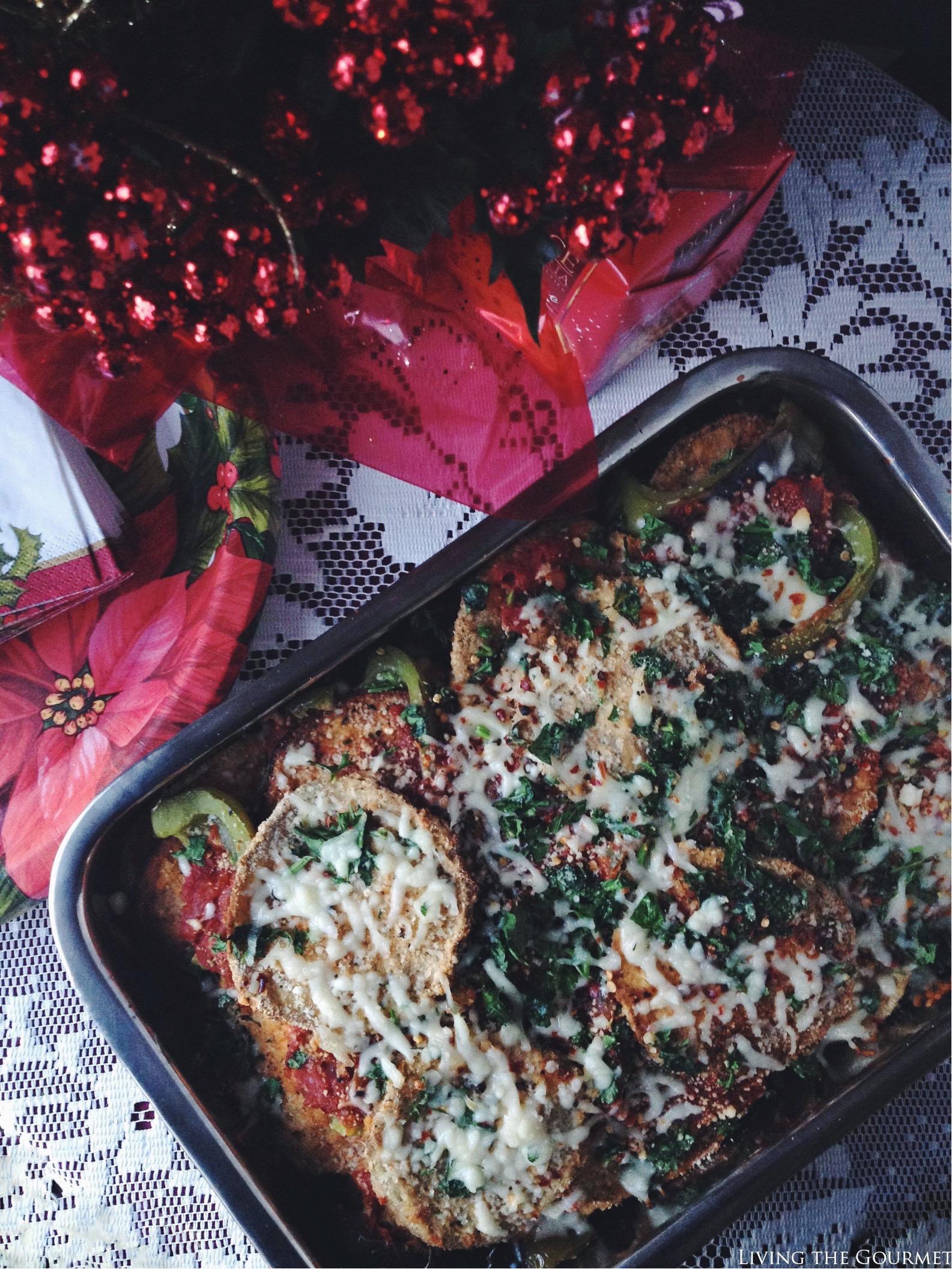 Living the Gourmet: Baked Eggplant Parmigiana | #BIGSeason #BigLots #ad