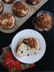 Cranberry Cashew & Almond Milk Muffins