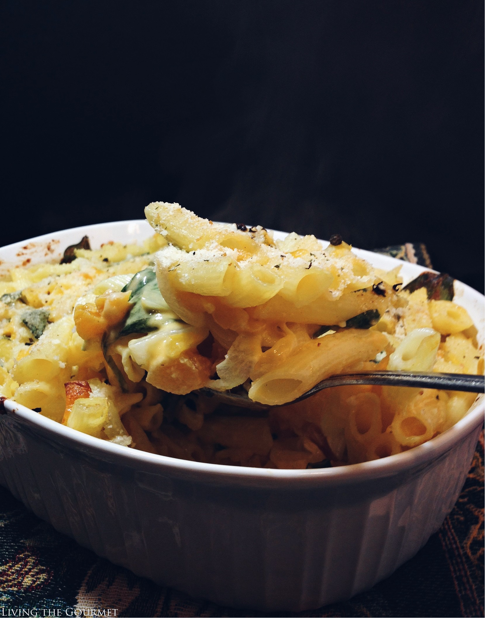 Living the Gourmet: Gluten Free Penne Mac and Cheese | #GlutenFreeBarilla #Pmedia #ad