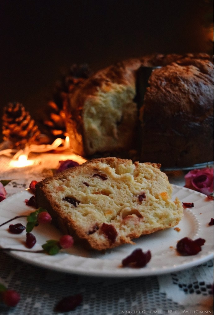 Living the Gourmet: Holiday Panettone with Craisins | #BetterWithCraisins #ad