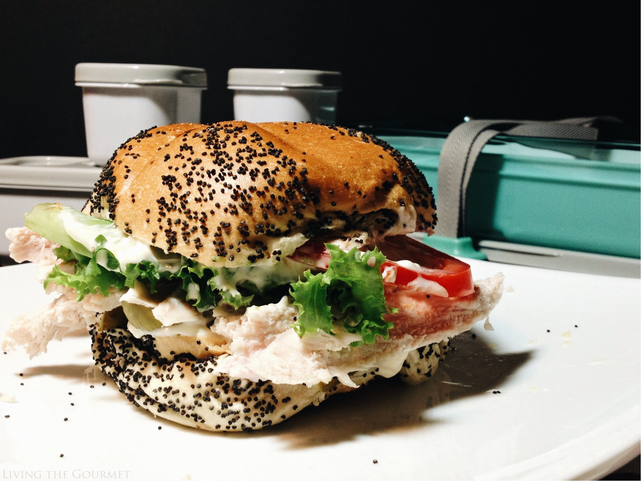 Living the Gourmet: Leftover Holiday Sandwiches | #FastenNGo #Pmedia #ad
