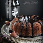 Dark Chocolate Stout Bundt | #BuntBakers