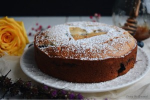 Mini Blueberry and Lavender Cake