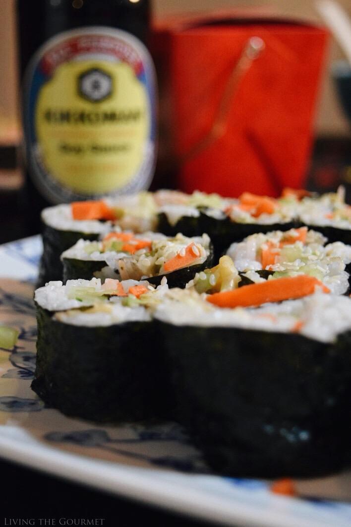 Living the Gourmet: Seaweed Rolls | #KikkomanCNY
