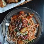 Spicy Seafood Marinara with Pasta