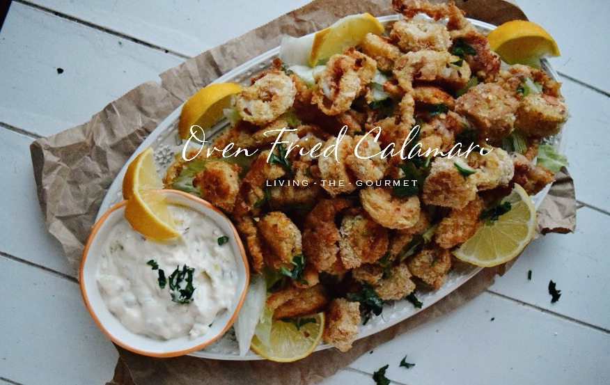 Living the Gourmet: Oven Fried Calamari
