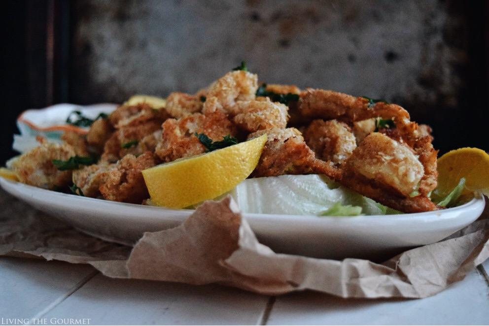 Oven Fried Calamari