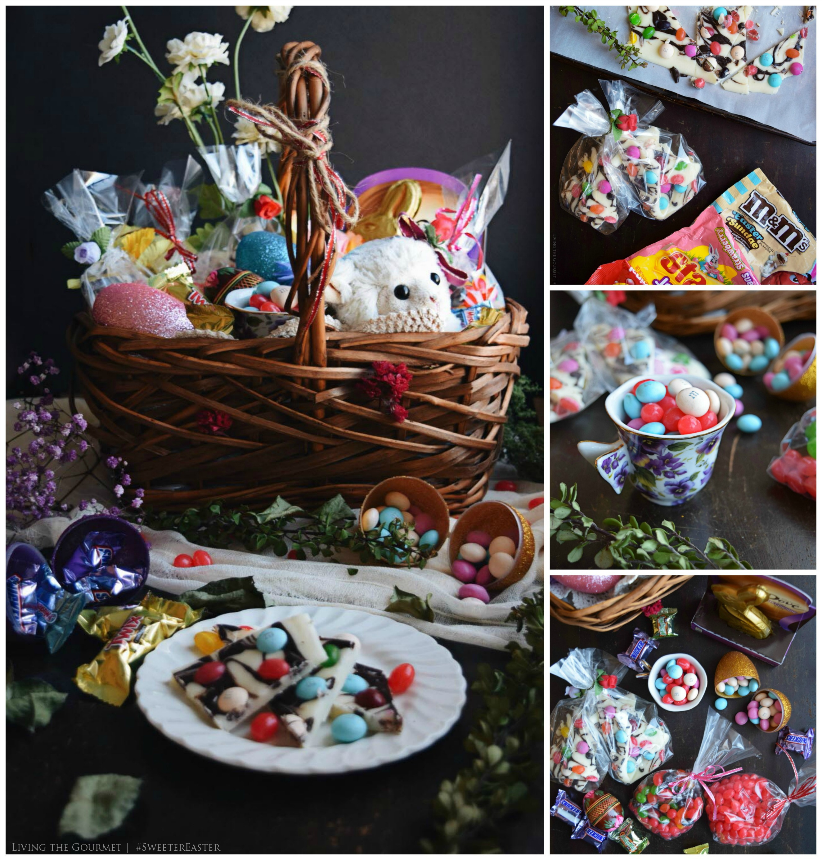 Living the Gourmet: Easter Fudge Bark