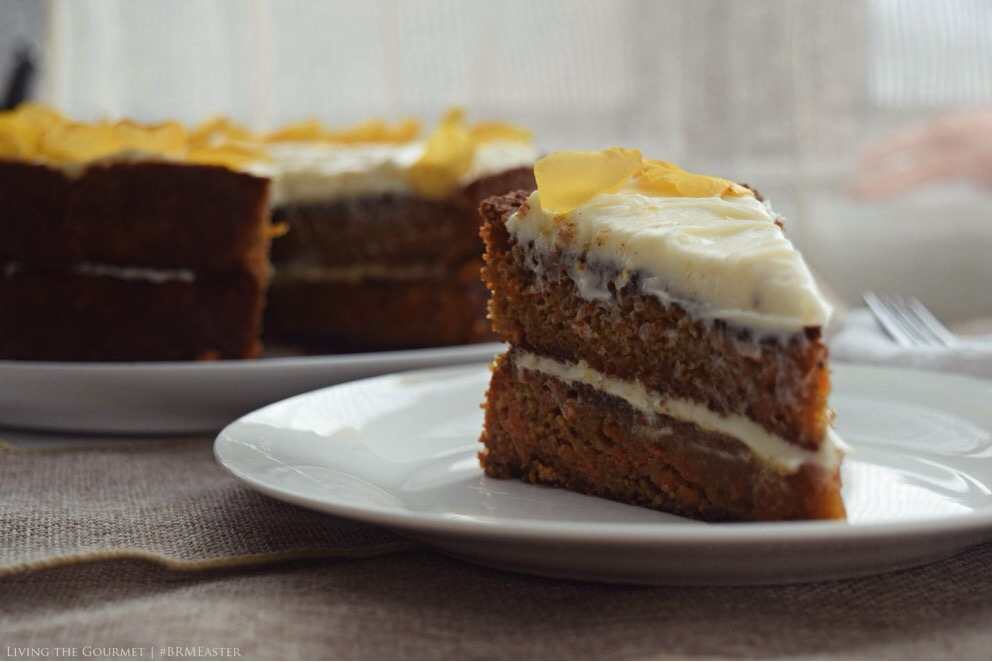 Living the Gourmet: Gluten Free Carrot Cake | #BRMEaster #CleverGirls