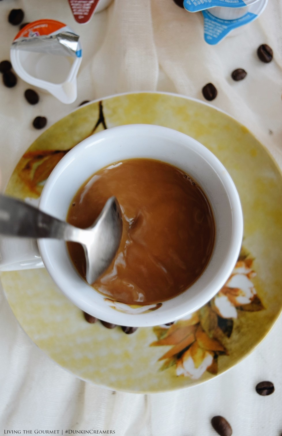 Living the Gourmet: A Guide to Brewing the Perfect Cup of Coffee | #DunkinCreamers #Ad