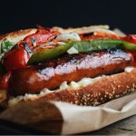 Grilled Sausage and Peppers Hero
