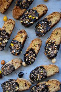 Chocolate Dipped Biscotti