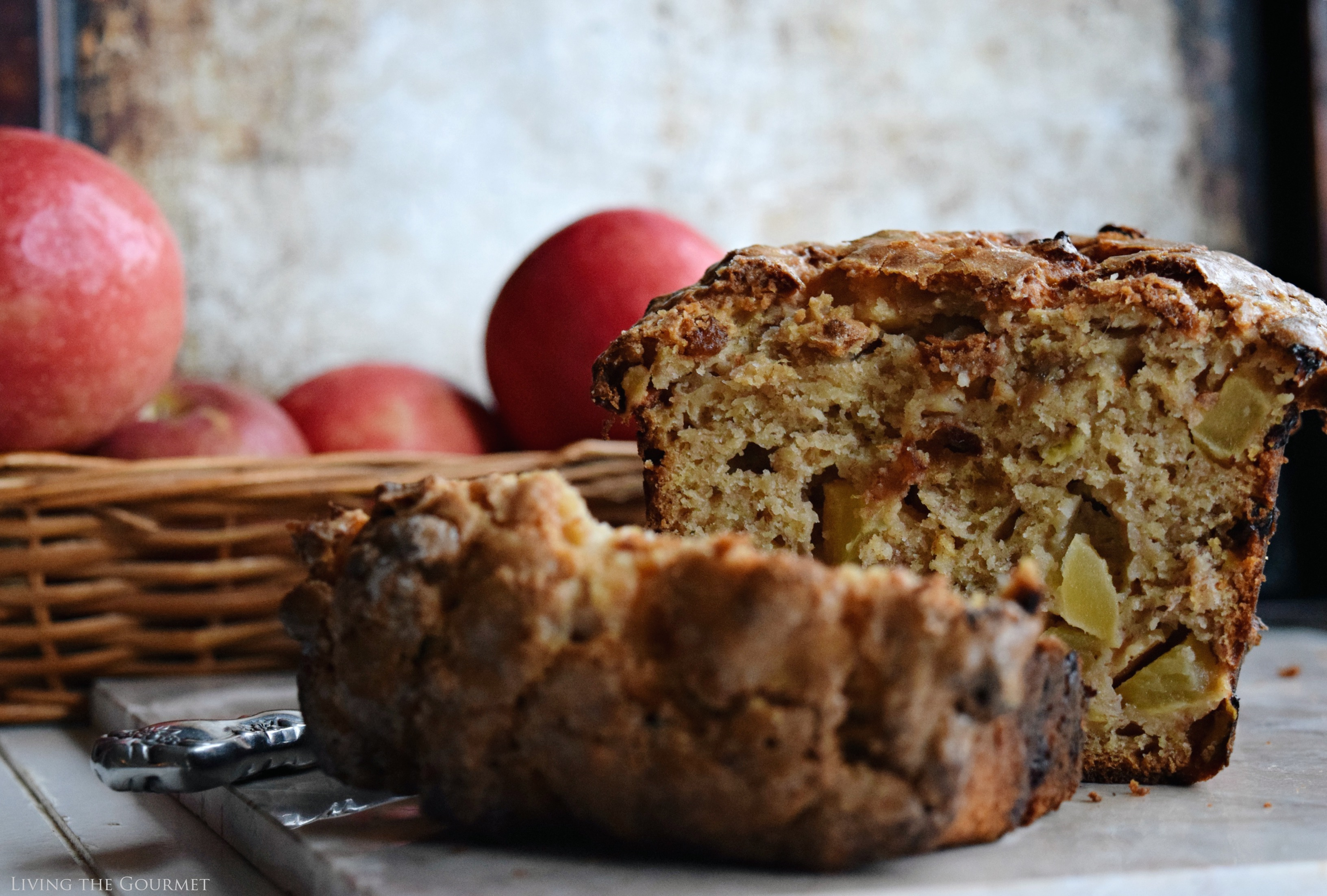 This hearty fruit loaf is a wonderful blend of sweet apples, bananas ...