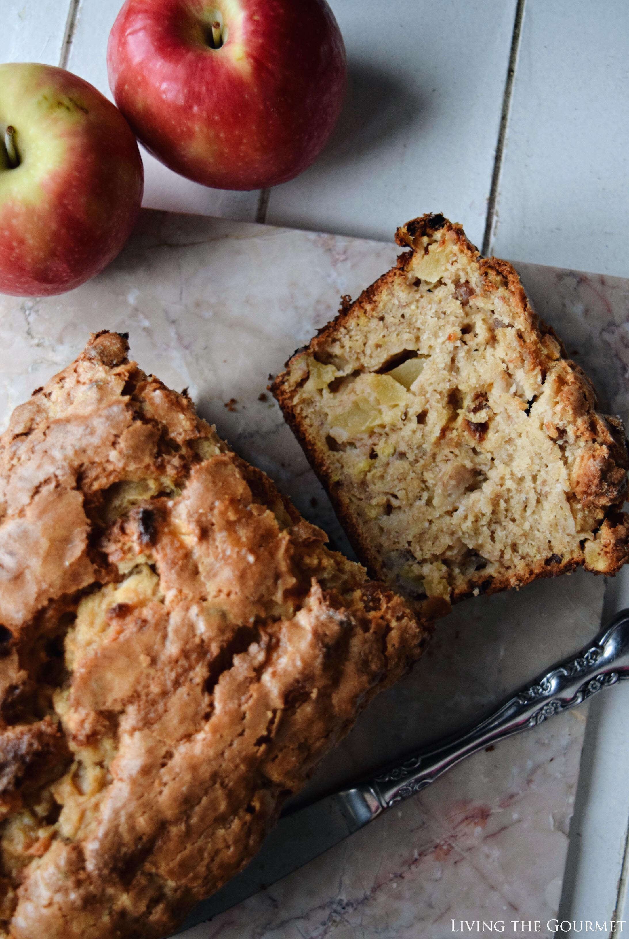 Apple Banana Bread - Living The Gourmet