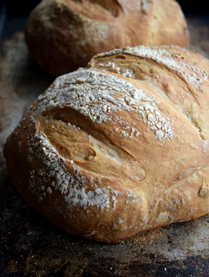 Living the Gourmet: Boule (Artisan Free-Form Loaf)